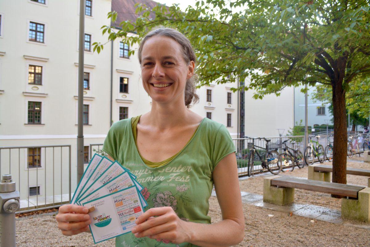 Carola Böhm, Inhaberin des Passauer Unverpackt-Ladens Tante Emmer