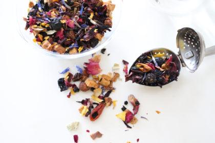 Früchtetee Tee Regiothek