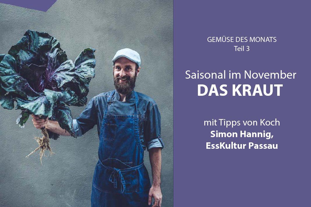 Saisonal essen im November: Alles steht Kohl!