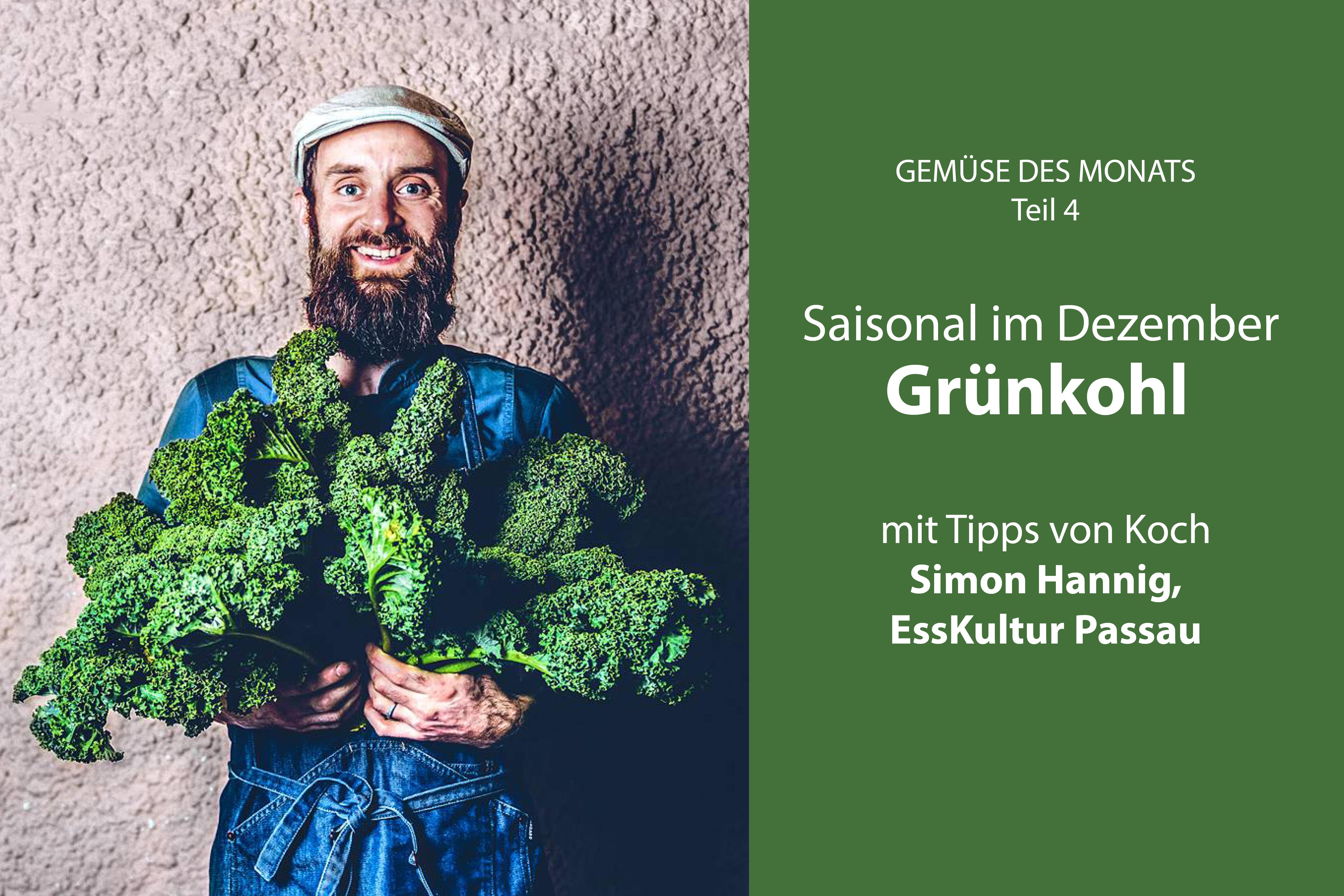Gruenkohl Gemuese des Monats