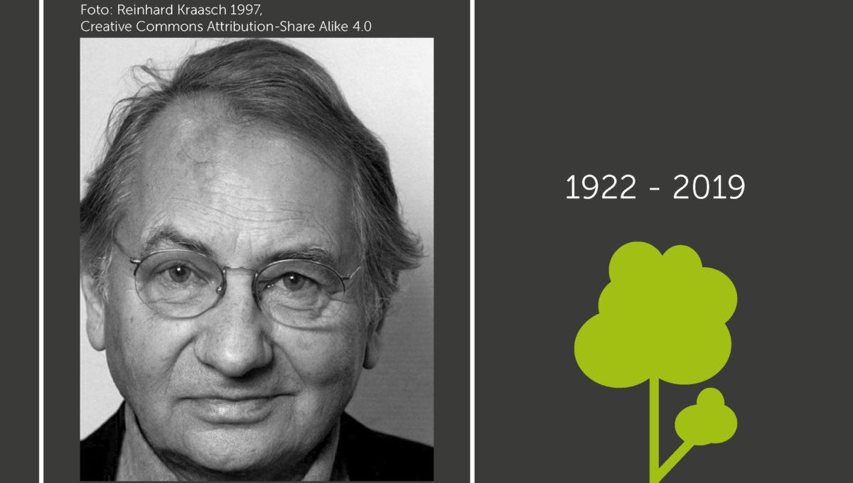 Horst Stern verstarb im Alter von 96 Jahren in Passau.